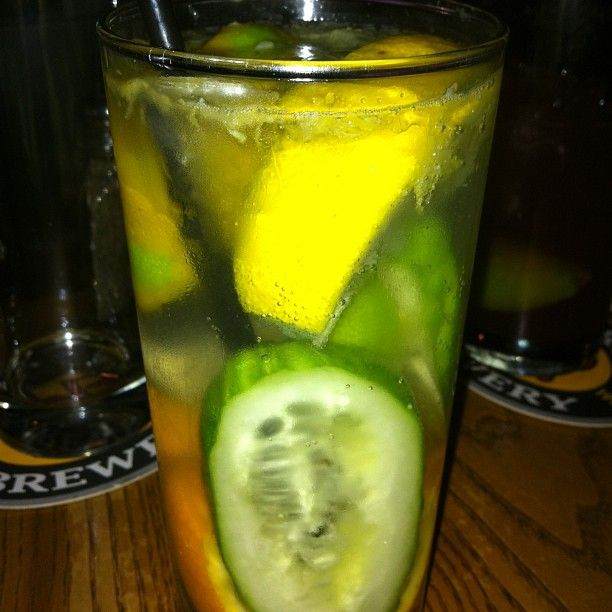 Photo by gregvanwilder - This drink is gonna be a summer smash this year. #pimmscup #lemon #lime #orange #cucumber #awkward… | Pimms cup ...