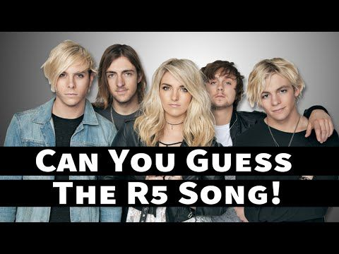 Guess The R5 Song! - YouTube