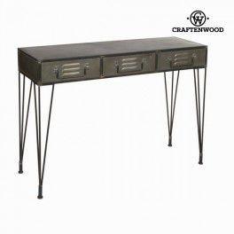Metallinen eteispöytä 2 vetolaatikolla by Craften Wood