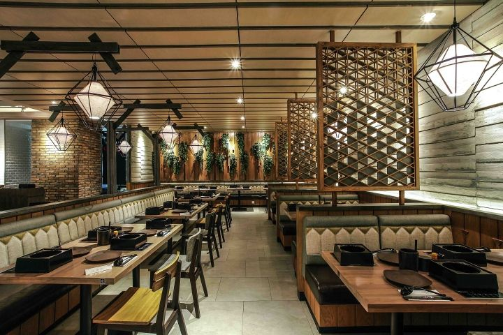 Shaburi restaurant by metaphor interior at grand indonesia
