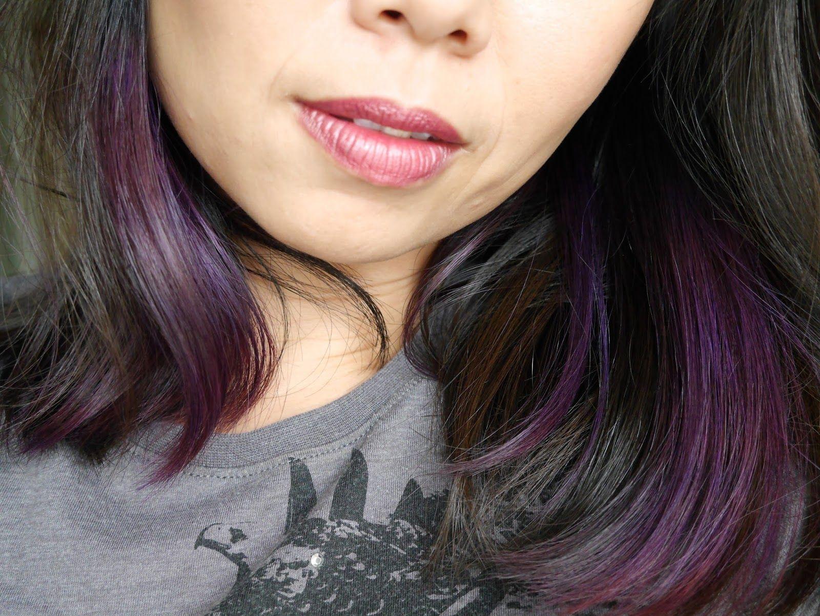 Review Splat Rebellious Colors Purple Desire Splat Hair Color Semi Permanent Hair Color Permanent Hair Color