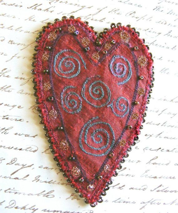 Embroidered heart, The Seventh Magpie