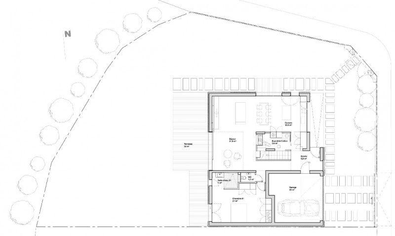 Une maison design d\u0027Avenier  Cornejo, France Frances o\u0027connor and