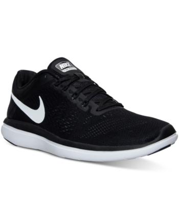 101e543514783 Nike Women s Flex 2016 Rn Running Sneakers from Finish Line - Black ...