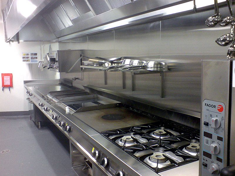 Bon Commercial Kitchen Design Layout