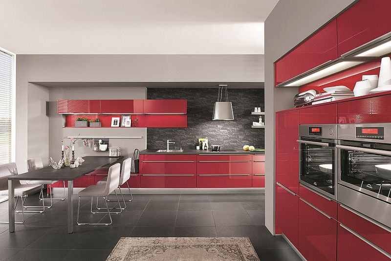 Cocinas Rojas Valencia Kitchens Pinterest Kitchens