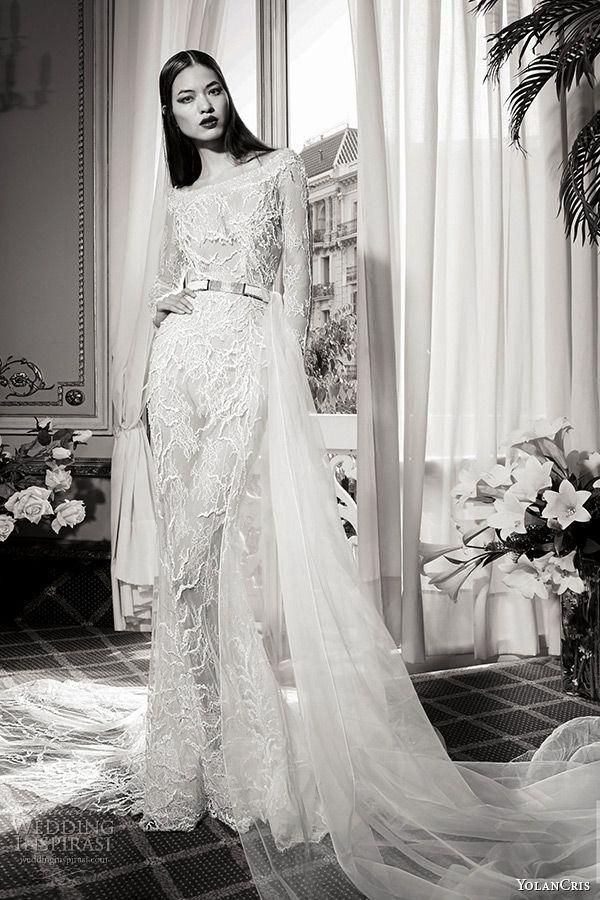 YolanCris Fall/Winter 2016 Wedding Dresses — Couture Capsule Bridal ...