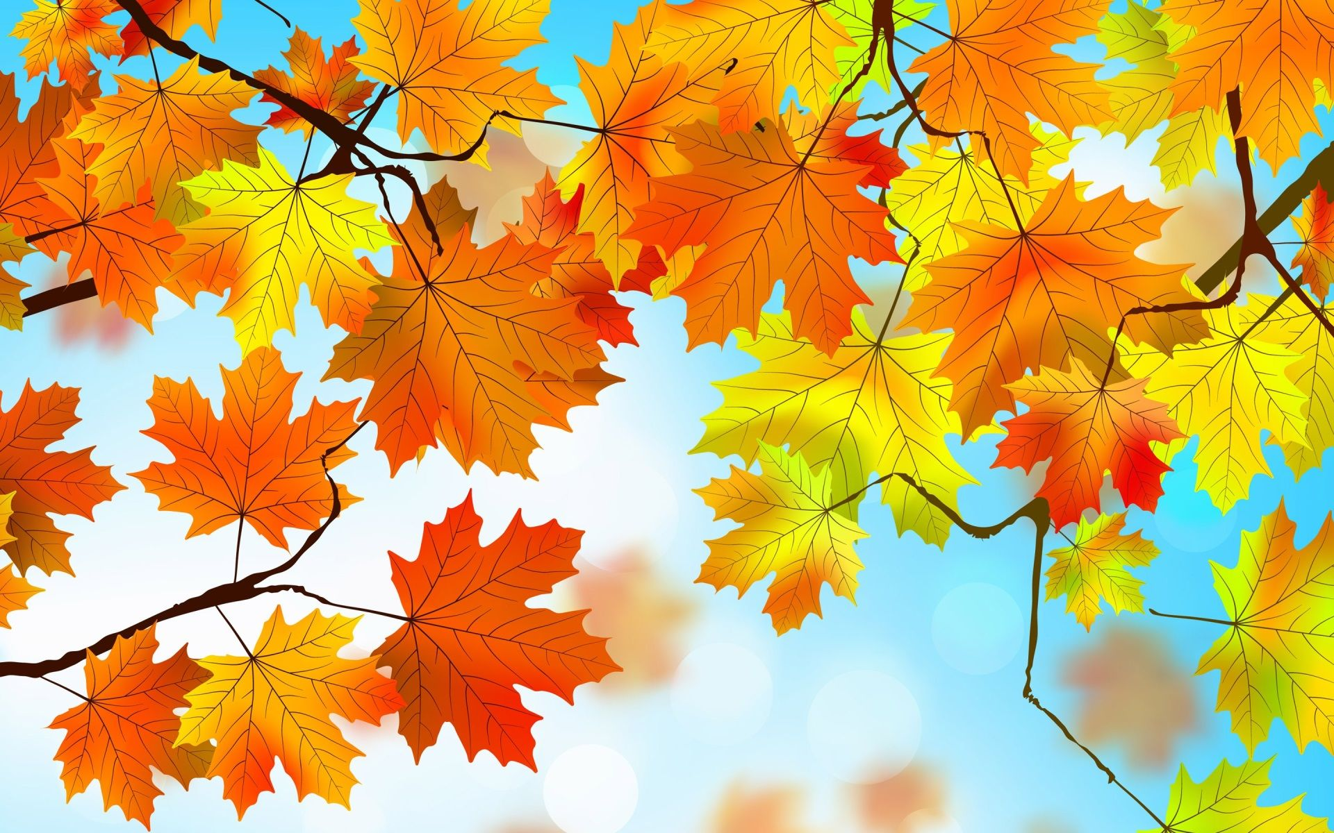 Красивые картинки для детей осень, зомби рисунки открытка