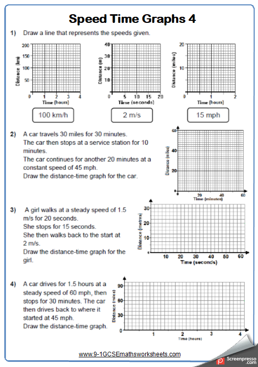 Real Life Graphs Worksheet Practice Questions Math Worksheet Distance Time Graphs Worksheets