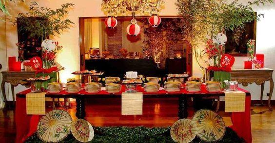decoraçao festa oriental - Pesquisa Google:
