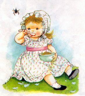 Little Miss Muffet.... Eloise Wilkin