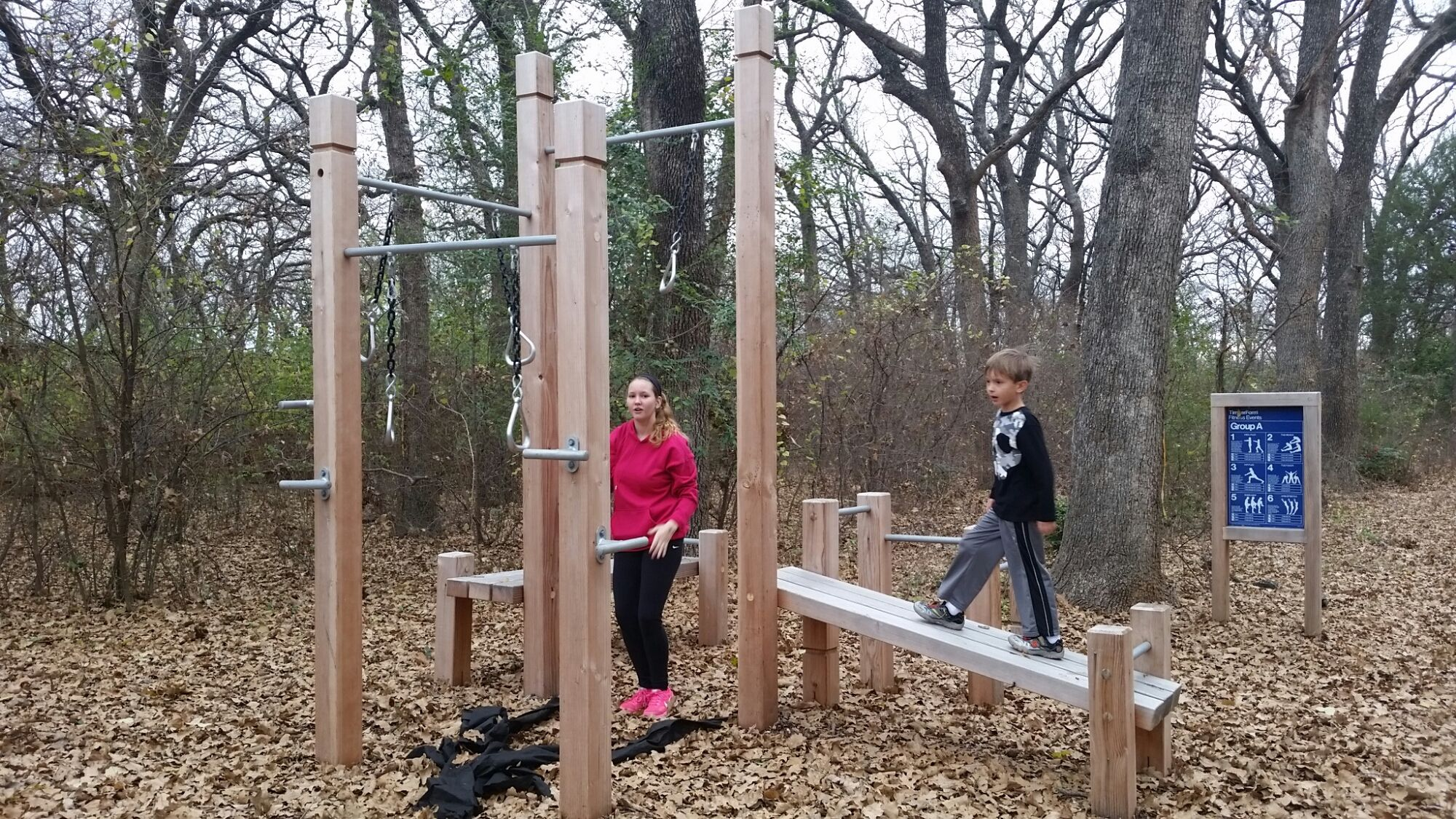Pin By Philip Harrison On Timberland Fitness Signs Fitness Trail Play Structure Outdoor Fun