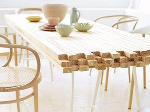Holzmöbel selber bauen  Schicke DIY-Einrichtungsideen aus Holz | Möbel selber bauen ...