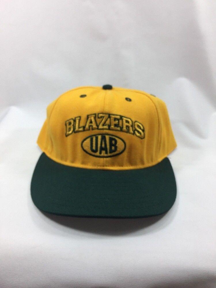 huge discount 4b827 0b10d Alabama Birmingham UAB Blazers Vintage Adjustable Strap Hat   eBay
