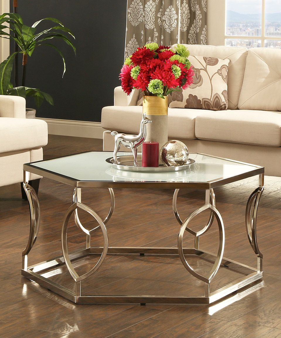 Halsey Cocktail Table Glass Cocktail Tables Contemporary Coffee Table Coffee Table [ jpg ]