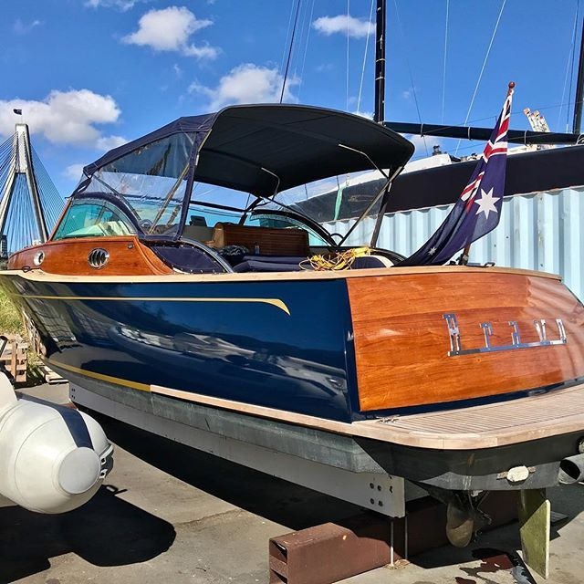 We Got To Wrap A Stunning Azzure 33 Today In 3m Boat Blue With Gold Stripes And Rego Boat Wraps Boat Accessories Sailboat Living