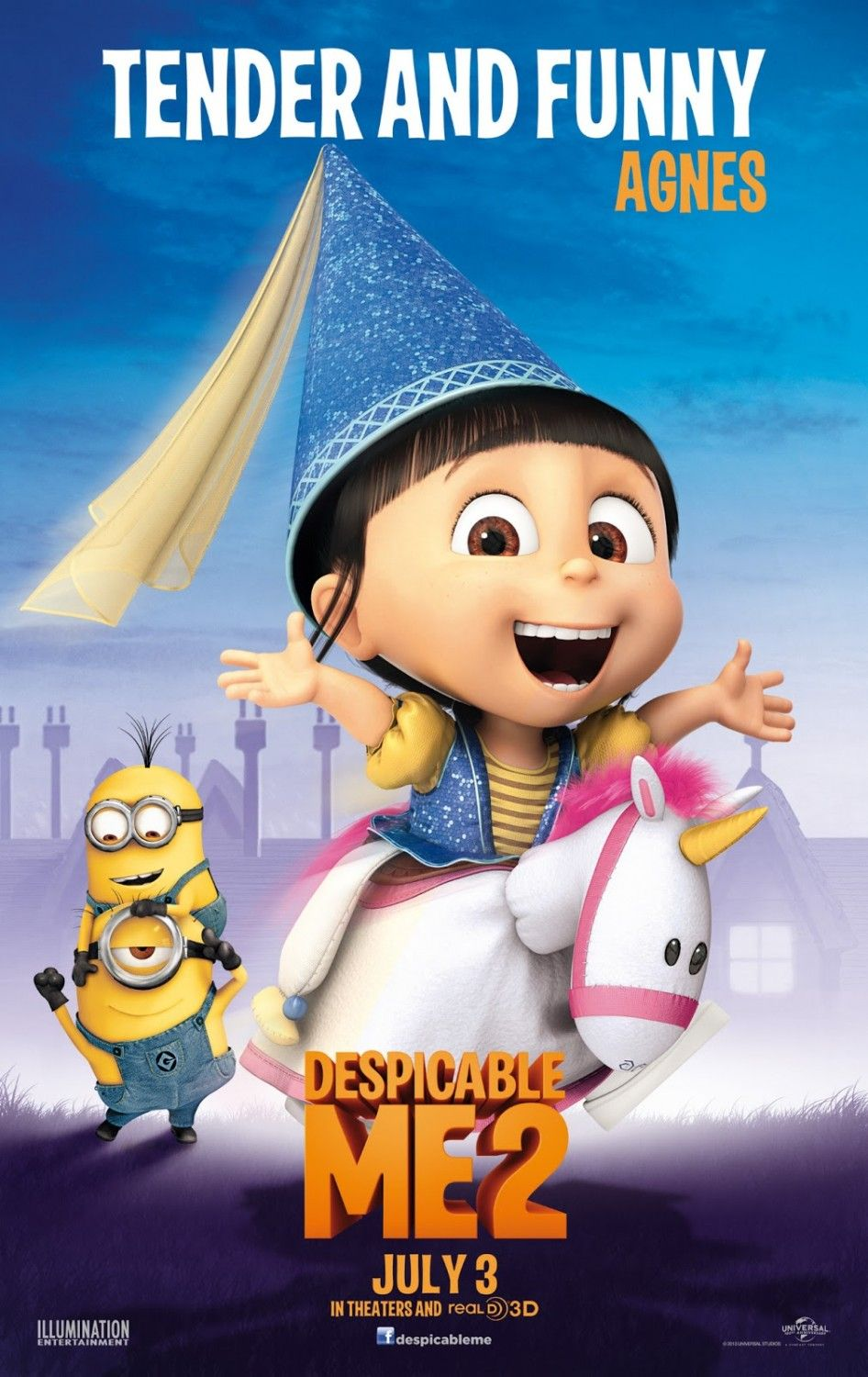 Movie On Stage Despicable Me 2 Minions Steve Carell Animacao