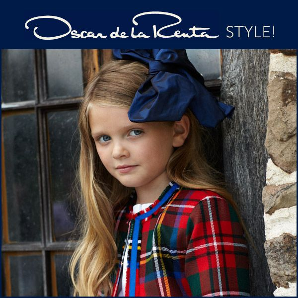 Oscar de la Renta Childrenswear style! #kids #win #sweepstakes #sweeps #contest #moms #designer #clothes