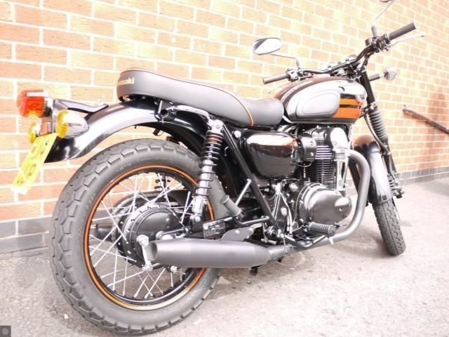 Kawasaki W800 Custom Special Edition Remus Cup Full Exhaust134miles