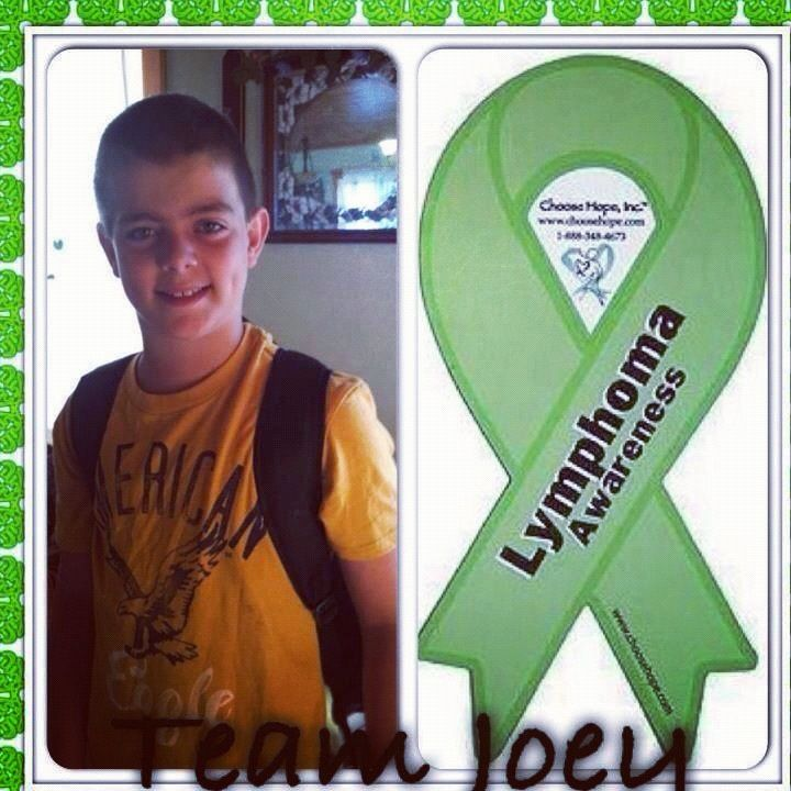 Join team Joey ! Bring your change to the studio this week. All $ raises will purchase gas cards for the family as he fights lymphoma!