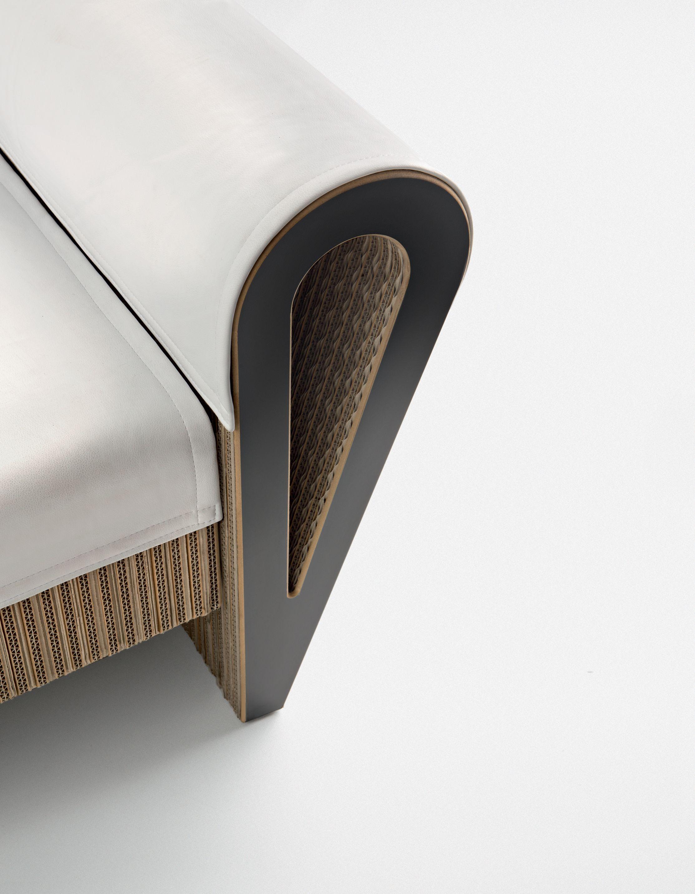 Le anime di carta la poltrona dahila - Mobili di cartone design ...