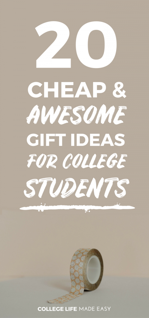 Here Are 20 Inexpensive Yet Thoughtful Gift Ideas For College Students Perfect Cheap Presents Christmas Care Packages Or A Birthday