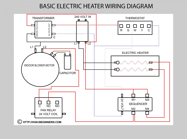 18 Electric Space Heater Wiring Diagram Basic Electrical Wiring Thermostat Wiring Electrical Wiring Diagram