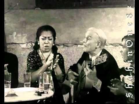 Old School Flamenco Session With Fernanda De Utrera And Deigo Del Gastor On The Guitar Flamenco Musica Cantando