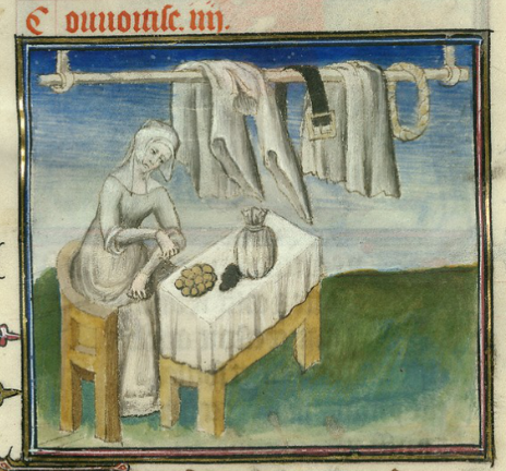 Roman de la Rose @RoseDigLib  ·   The image of what tempts all thieves to filch, fleece, falsify, deceive. #RoseRom Image from @J. Paul Getty Museum Ludwig XV 7