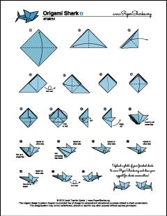 paper sharks pattern a origami shark folding diagram and rh pinterest com origami shark instructions step by step origami shark instructions pdf