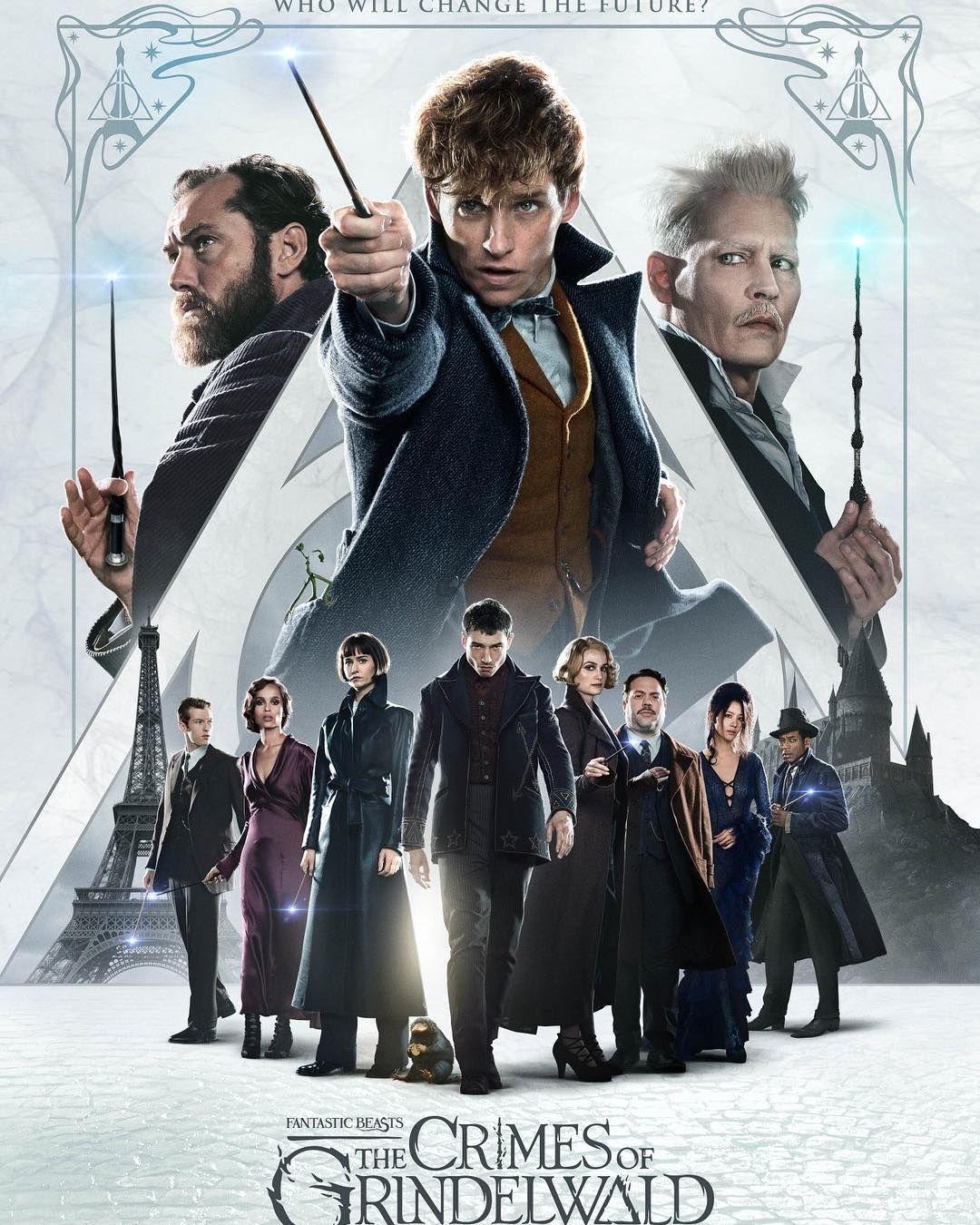 Fantastic Beasts Crimes Of Grindelwald With Images Fantastic