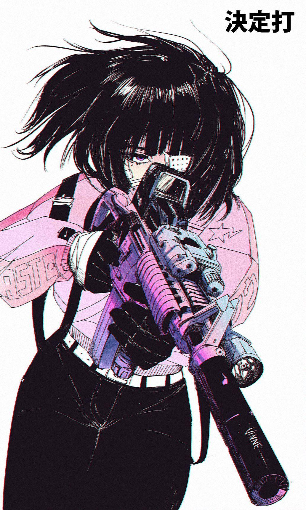 Aesthetic Anime Girl : aesthetic, anime, Vinne, Twitter, Manga, Anime, Character, Design