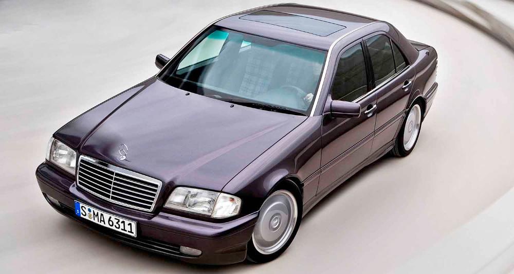 مرسيدس سي36 أي أم جي 1993 بداية آي أم جي الرسمية تحت راية النجمة الفضية موقع ويلز Benz Mercedes Benz Mercedes