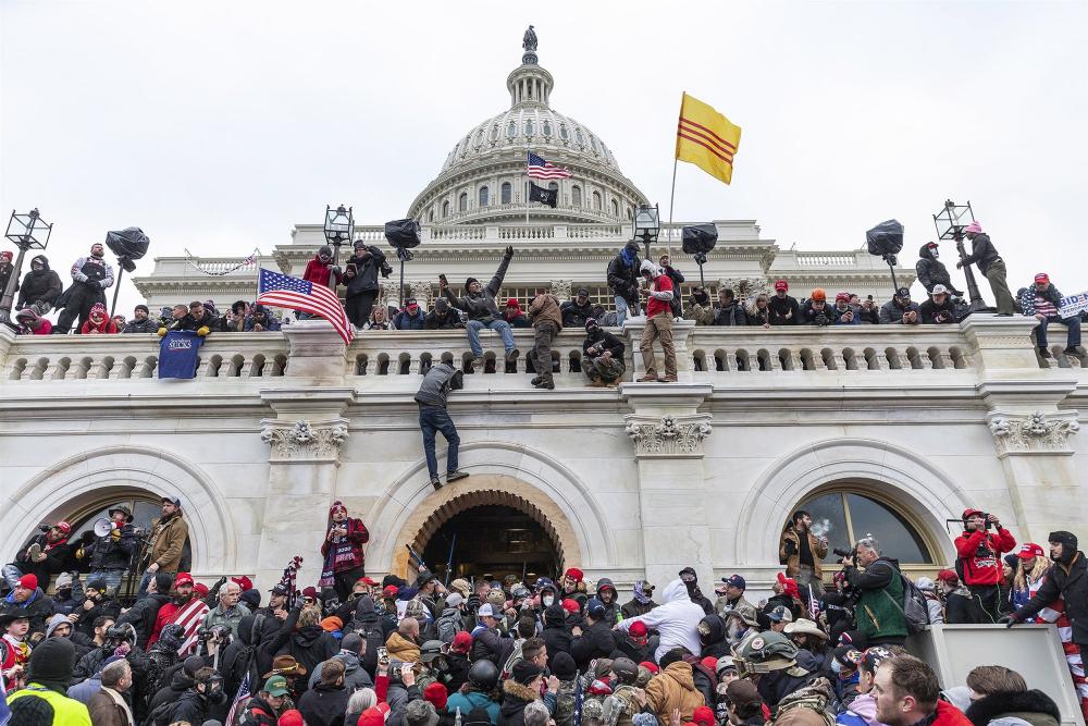 Capitol Riot Mob 01 06 21