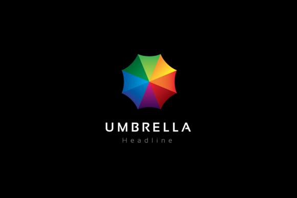 Umbrella Logo Template Logo Templates Professional Logo Design Finance Logo