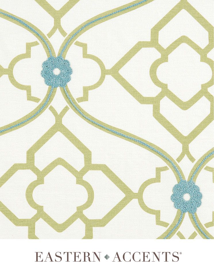 Bradshaw fabric. Love the pattern and subtle colors!