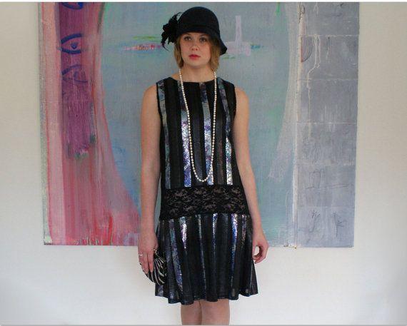 Clapet robe robe des ann es 1920 charleston ann es 20 for Boutiques de robe de mariage charleston