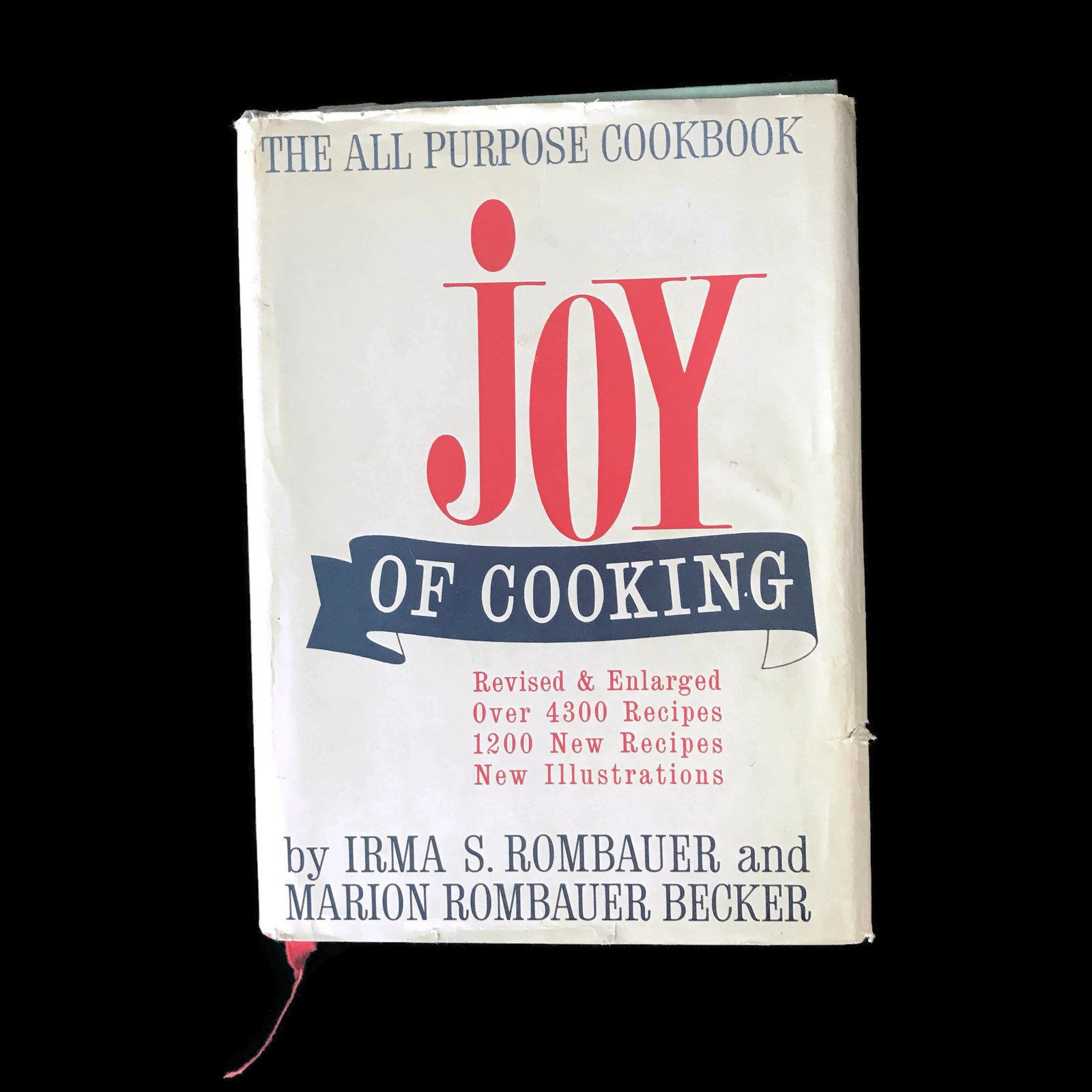 Vintage Cookbook 1964 Joy of Cooking Cookbook Irma Rombauer Recipe Book Vintage Kitchen Recipes Cook Book Household Hints Entertaining Ideas #cookingandhouseholdhints