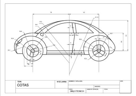 Clases de redes dibujo tecnico marrazketa pinterest for Carros para planos arquitectonicos