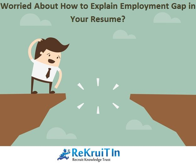 Gaps In Employment Rekruitinresumetip #1  Covering Recruitment Gaps In Your Resume 1 .