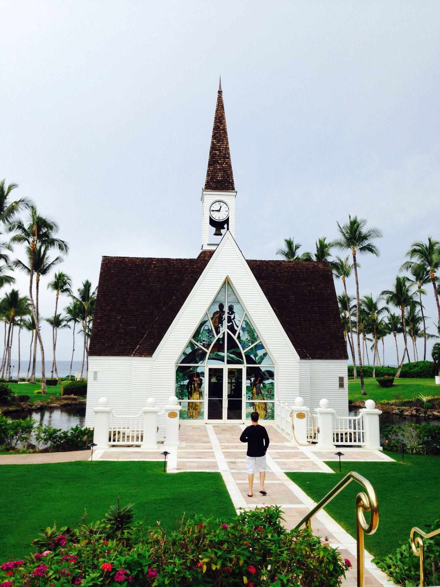 Grand Wailea Wedding Chapel Maui Hawaii Hawaiian Travel Hawaii Travel Guide Hawaii Travel