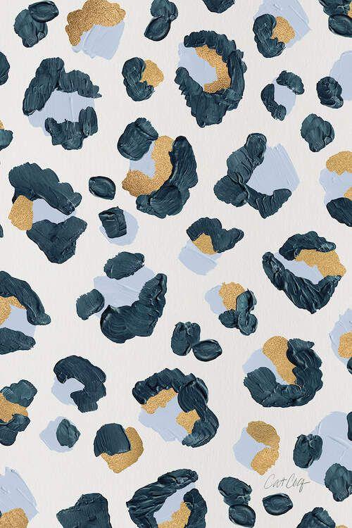 Snow Leopard - Leopard Print - Canvas Print