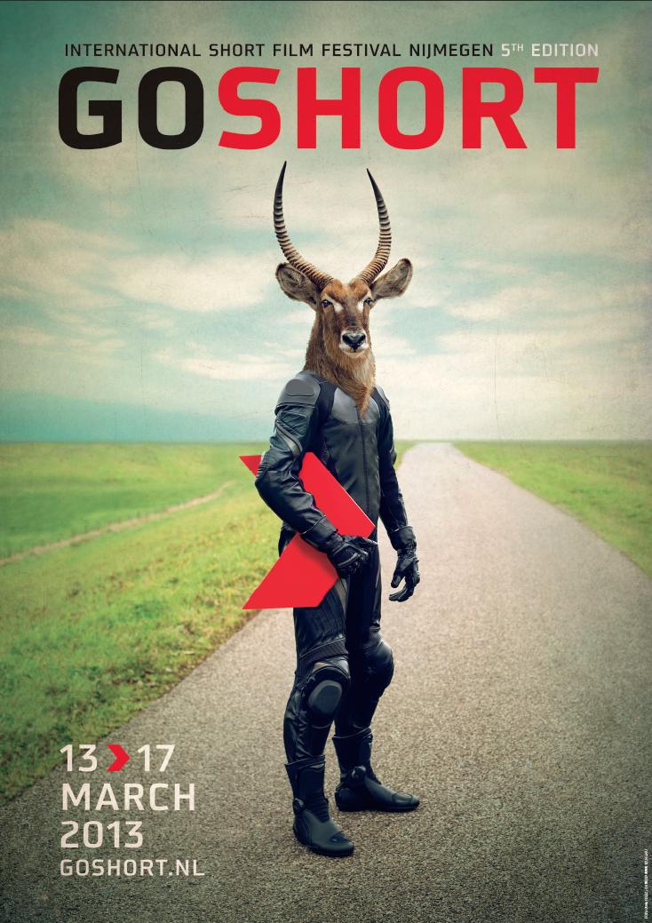 Poster Go Short Film Festival 2013 #artdirection