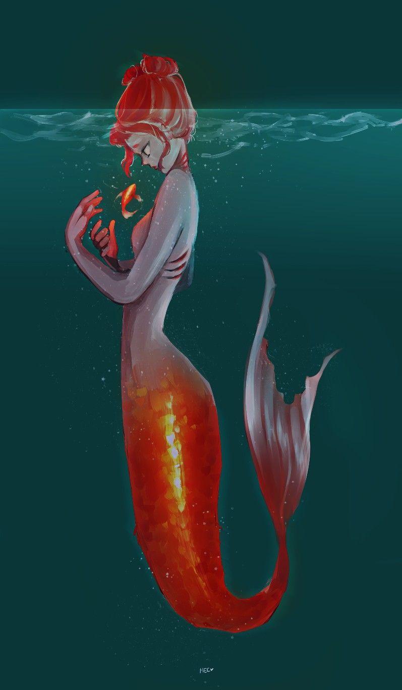 Mermaid | Fractured Fairy Tales | Pinterest | Sirenitas, Dibujo y Hada