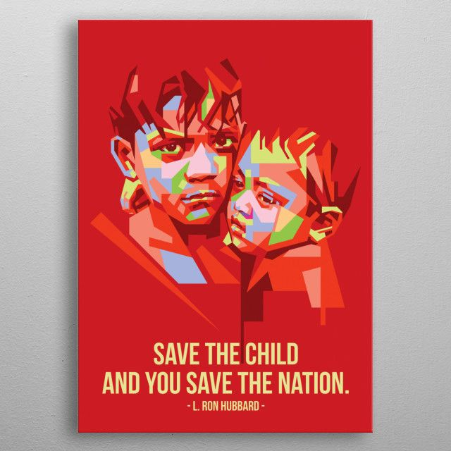 save the child | Displate thumbnail