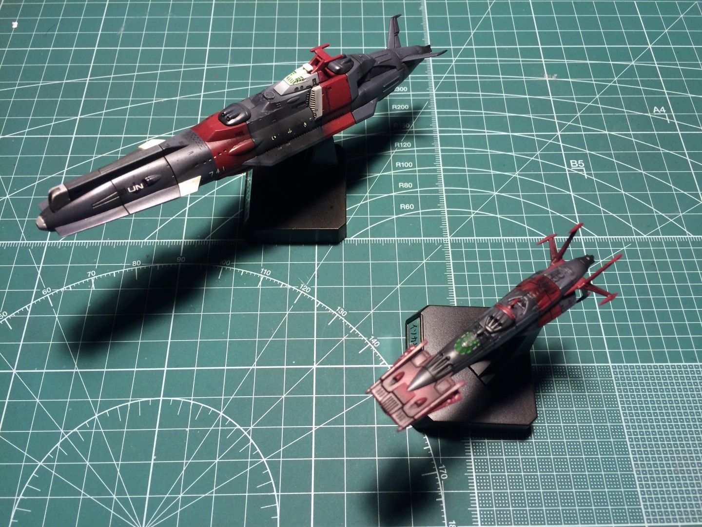 Bandai Cosmo Fleet Collection Space Battleship YAMATO Full 5 Sets