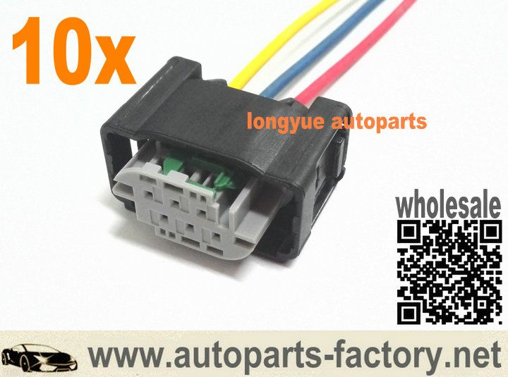 57c796203694a9615d1565d8d3f12ed6 longyue 10pcs ymq503220 land rover discovery 3 height sensor Automotive Wire Connectors at mifinder.co