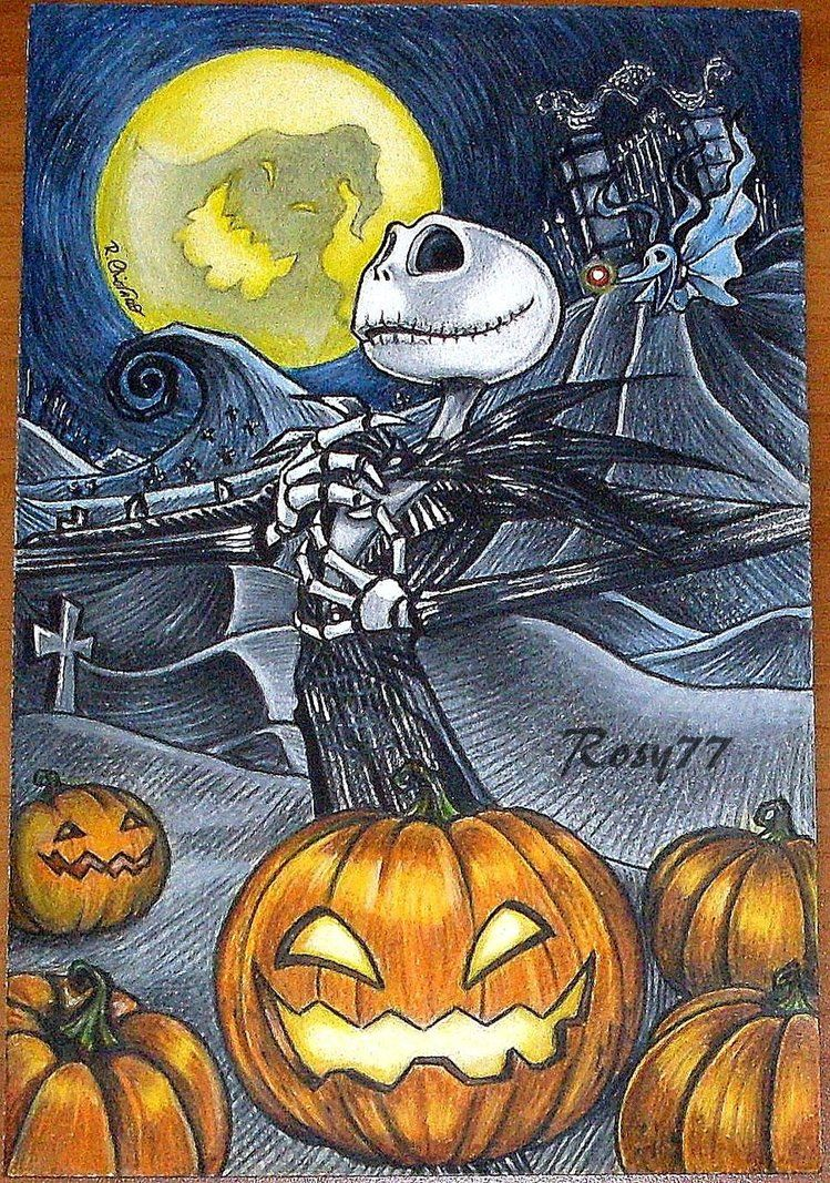 *JACK SKELLINGTON The Pumpkin King by RosyChiovaro77 on