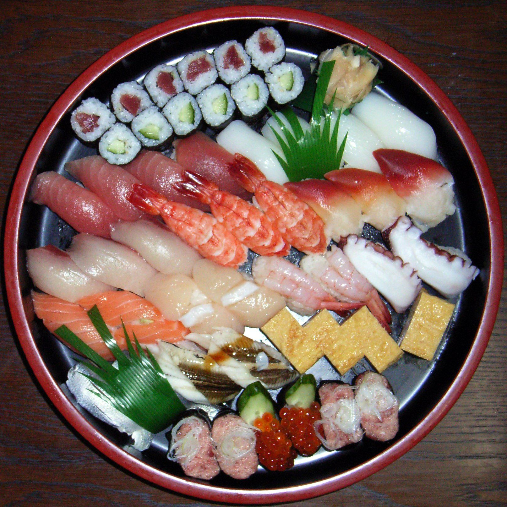 The Different Kinds Of Sushi Types Names And Photos Kinds Of Sushi Sushi Platter Food