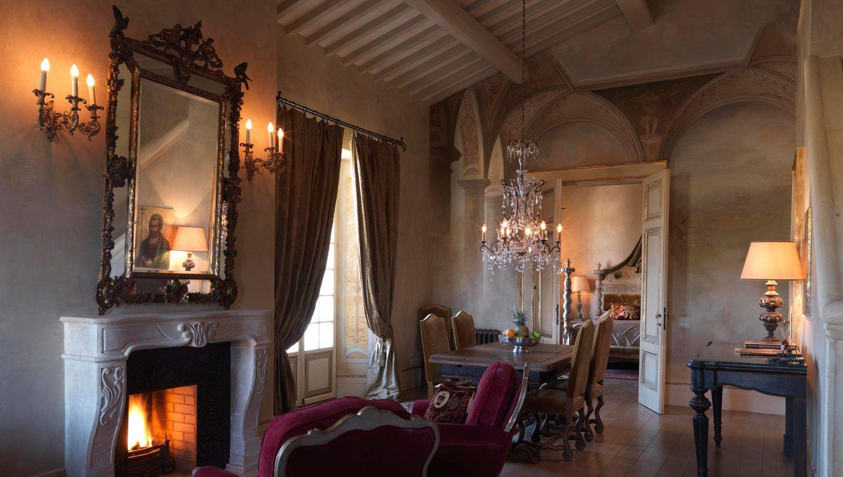 Toskanisches Luxushotel | Antique Interiors | Pinterest